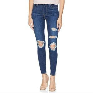 Levi's Mile High Skinny Jeans New Technique 24